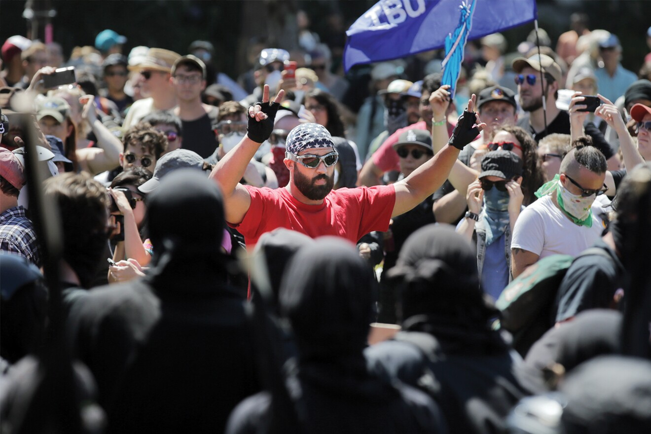 Image result for patriot prayer portland gopro