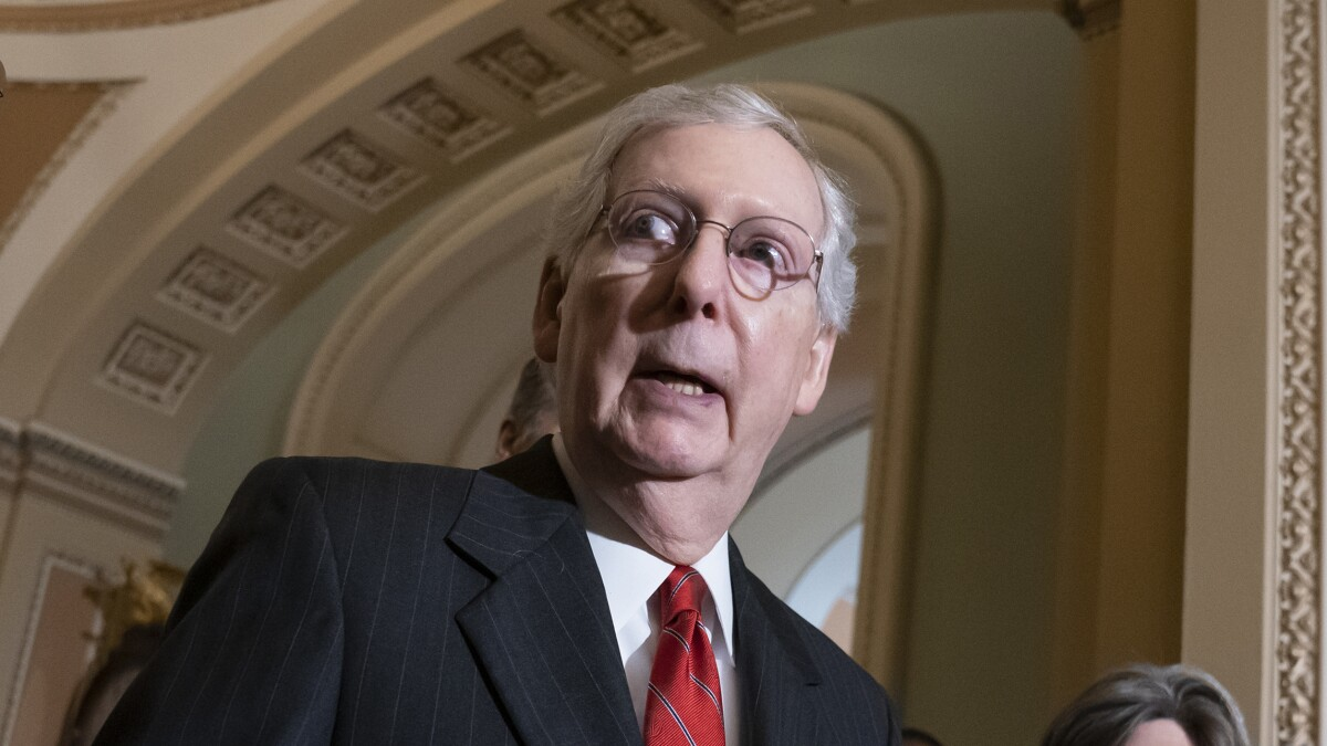 Mitch McConnell is the most unpopular US senator: Poll
