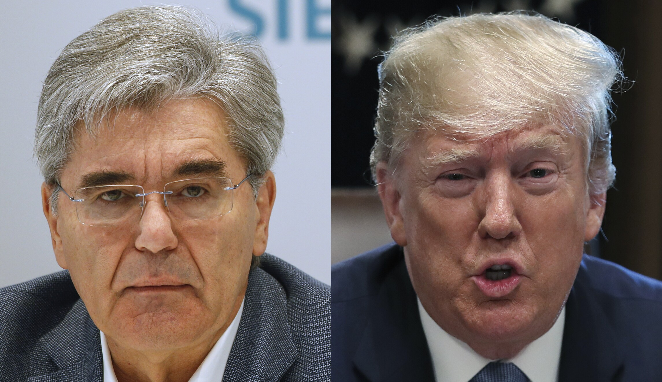 Siemens CEO calls Trump the 'face of racism' after 'send her back' chants