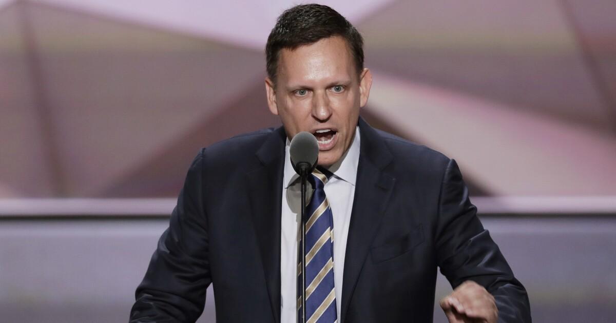 Republican associate of Peter Thiel eyeing Arizona Senate race