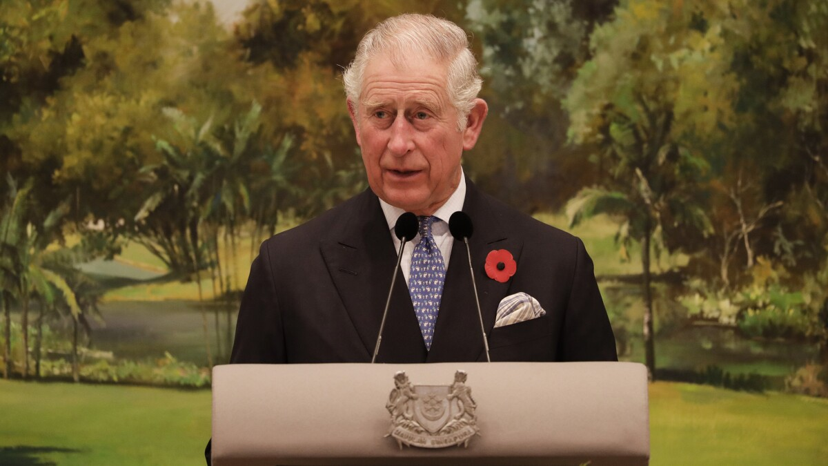 'Inshallah': Prince Charles praises 'Islamic culture' and prays in Arabic for Middle East peace