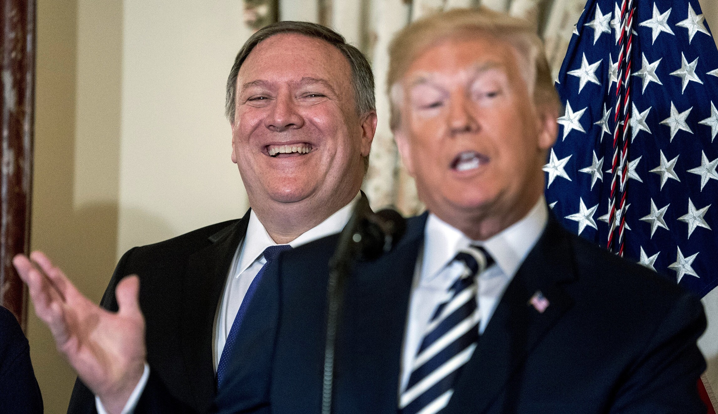 Mike Pompeo,Donald Trump