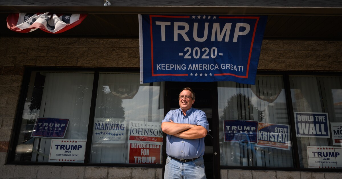 Ohio county tells story of the seismic shift of working-class voters toward GOP