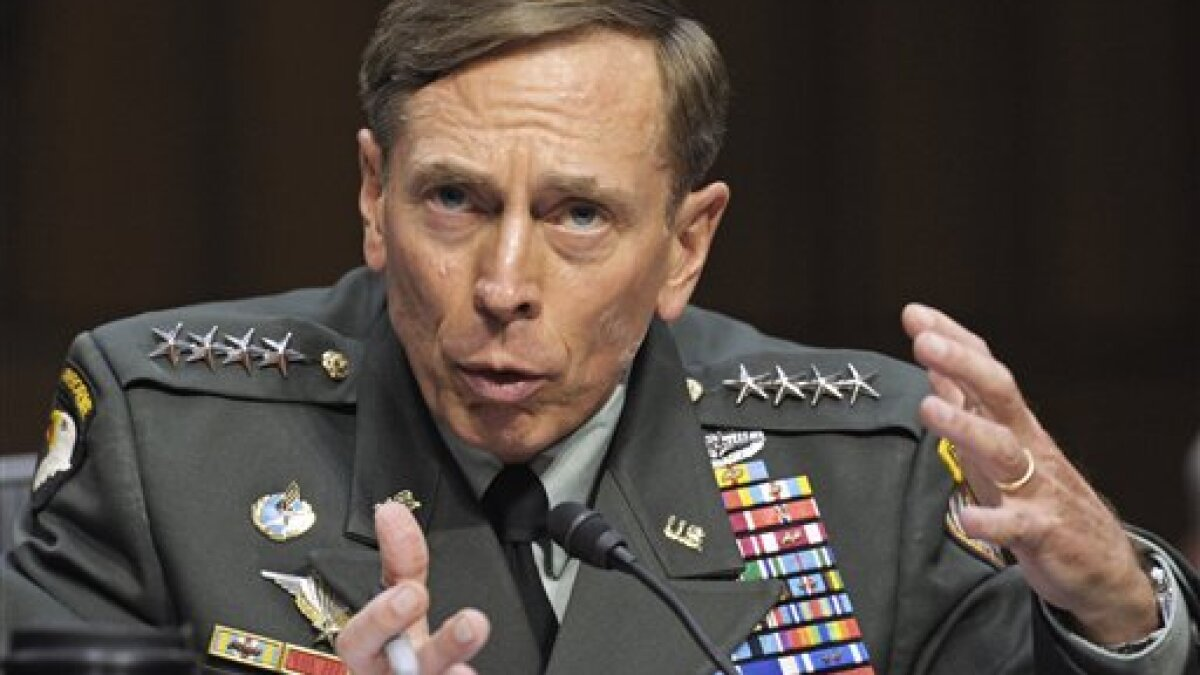 'Undeniable progress': Petraeus defends record in Afghanistan after documents reveal massive failures