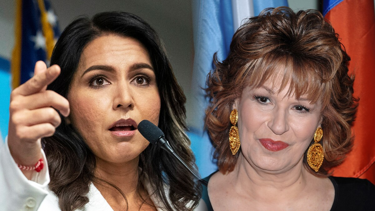 Tulsi Gabbard calls out Joy Behar's vicious smears in <i>The View</i> showdown