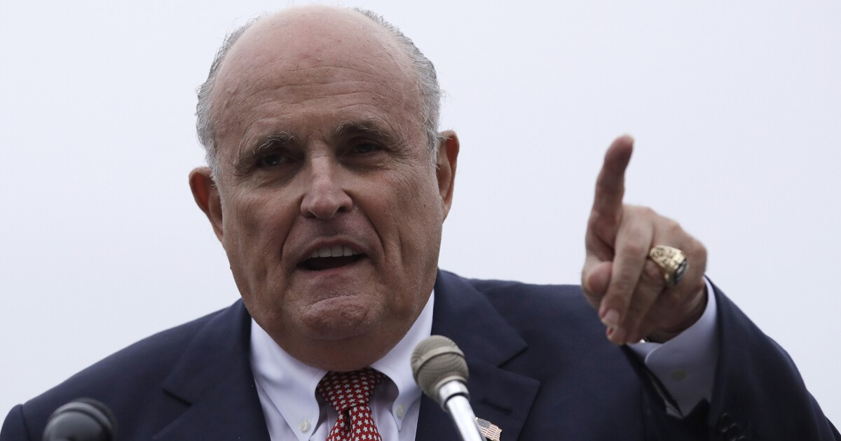 Giuliani traveling to Ukraine seeking to damage Biden, bolster Trump