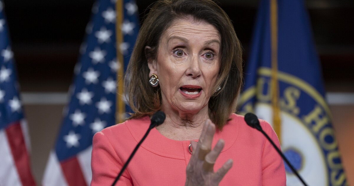 Pelosi worries Trump might try to hold on to power if he loses by a close margin in 2020