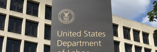 US Department of Labor / Sign and Exterior.