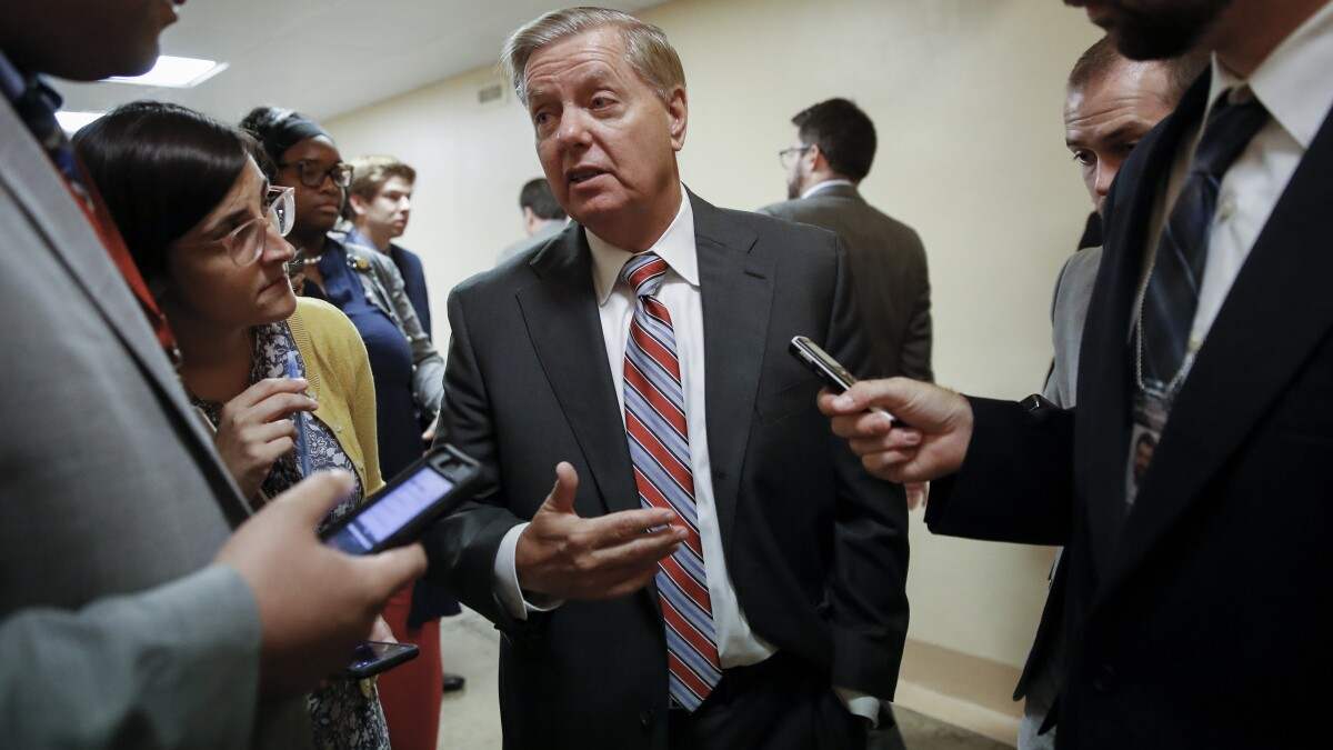 Lindsey Graham wants answers on role of CIA and Obama in Trump-Russia probe
