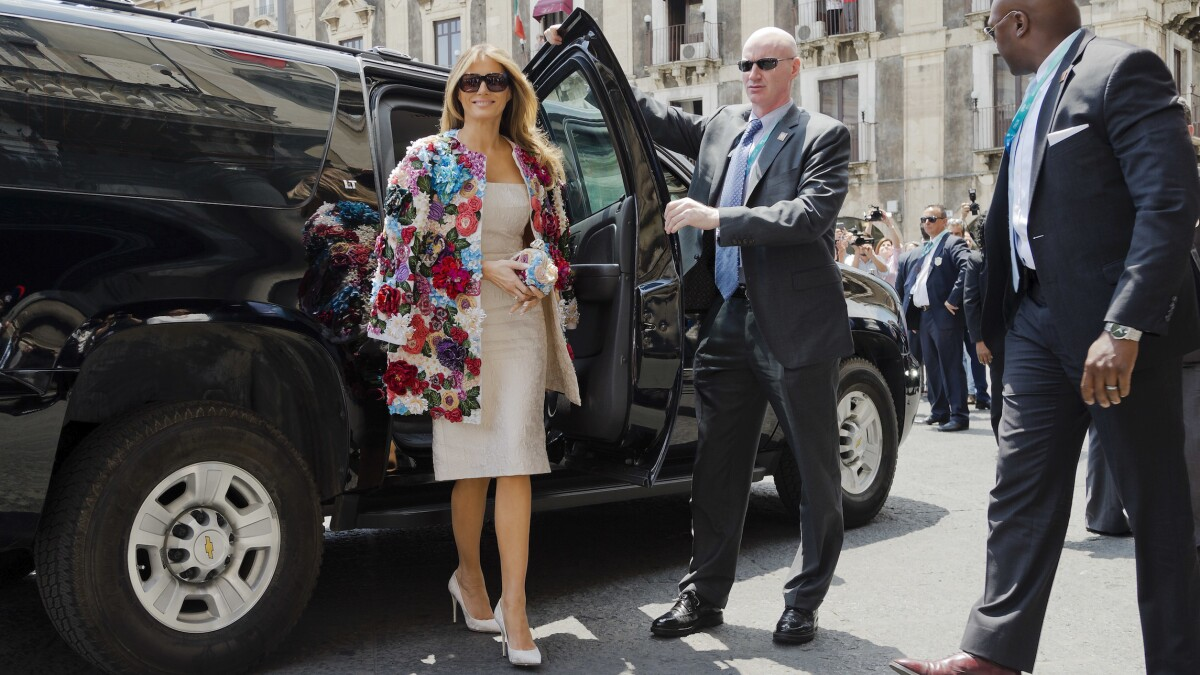 Melania Trump is a style icon, no matter how you feel about Donald