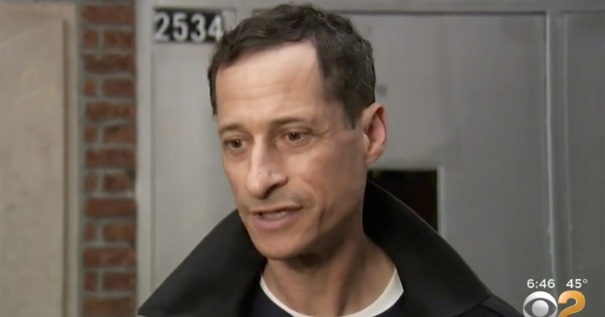 Anthony Weiner breaks silence upon release from halfway house