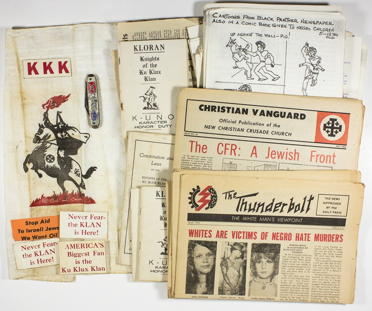 Collectors flock to KKK, Confederate, domestic terror artifacts