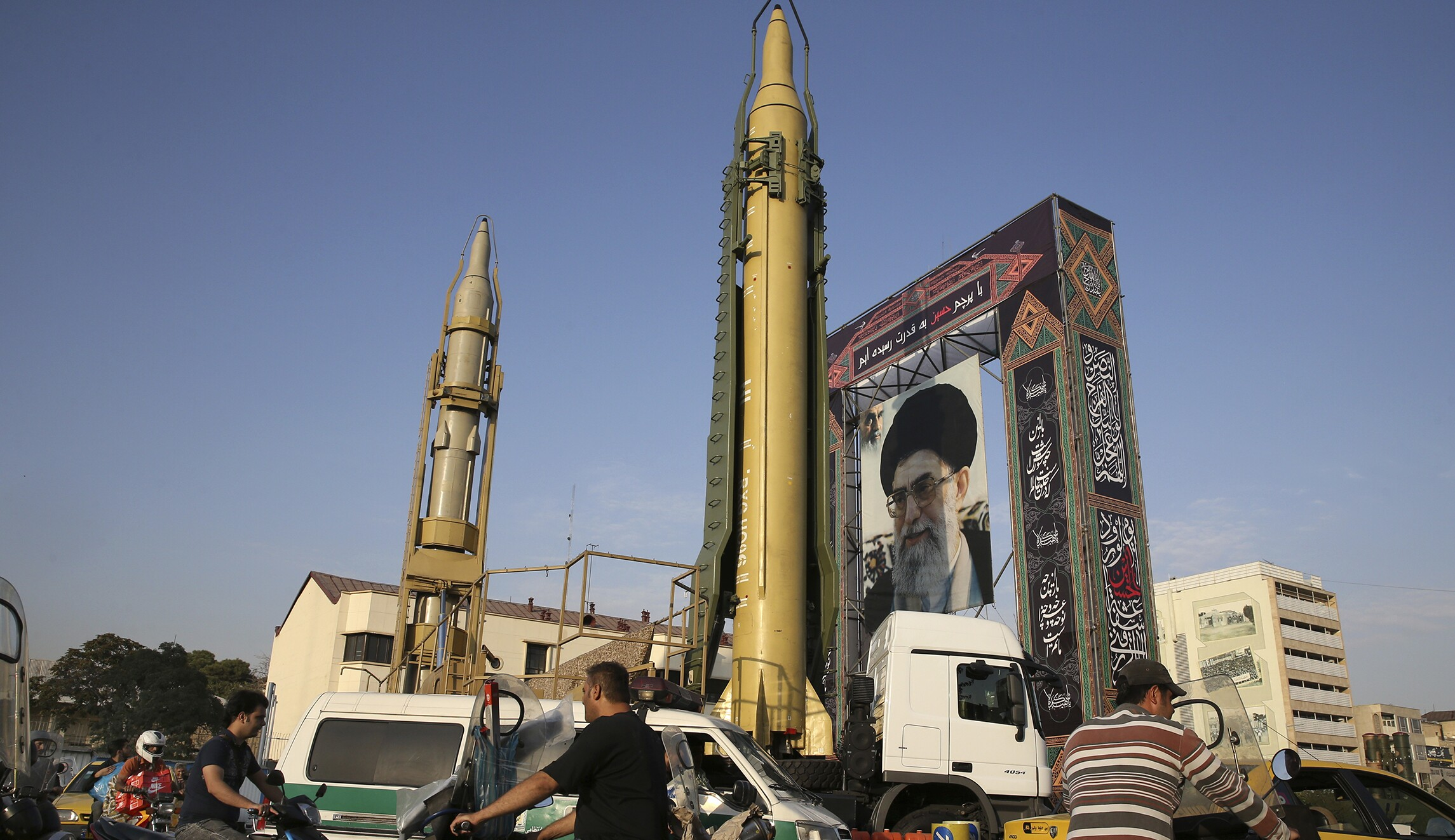 Image result for DID IRAN EVER FIRED A BALLISTIC MISSILE