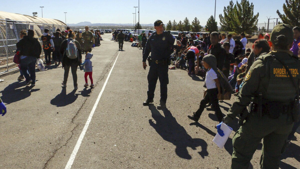 Border Patrol agents not immune to onslaught of illnesses plaguing migrant holding centers