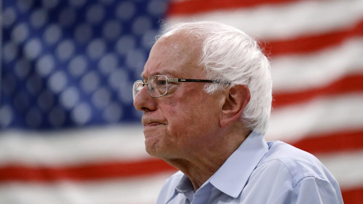 Democratic debate watchers concerned about Bernie Sanders health: poll
