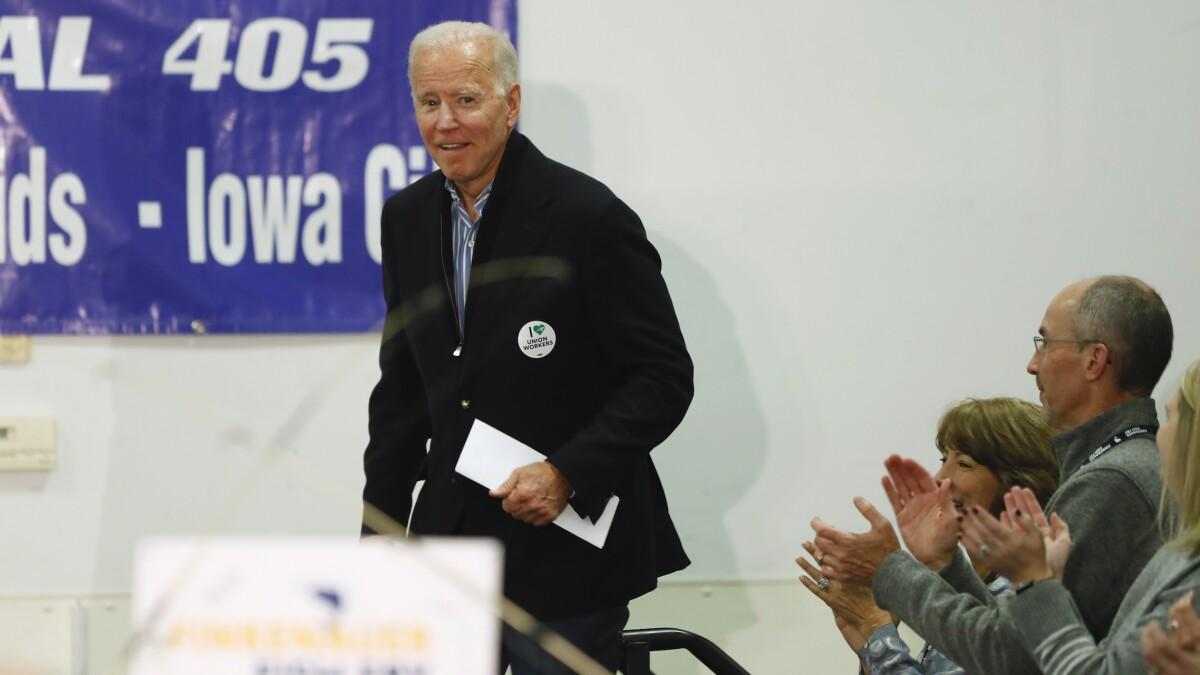 Mayor of Pocahontas endorses Joe Biden over Elizabeth Warren