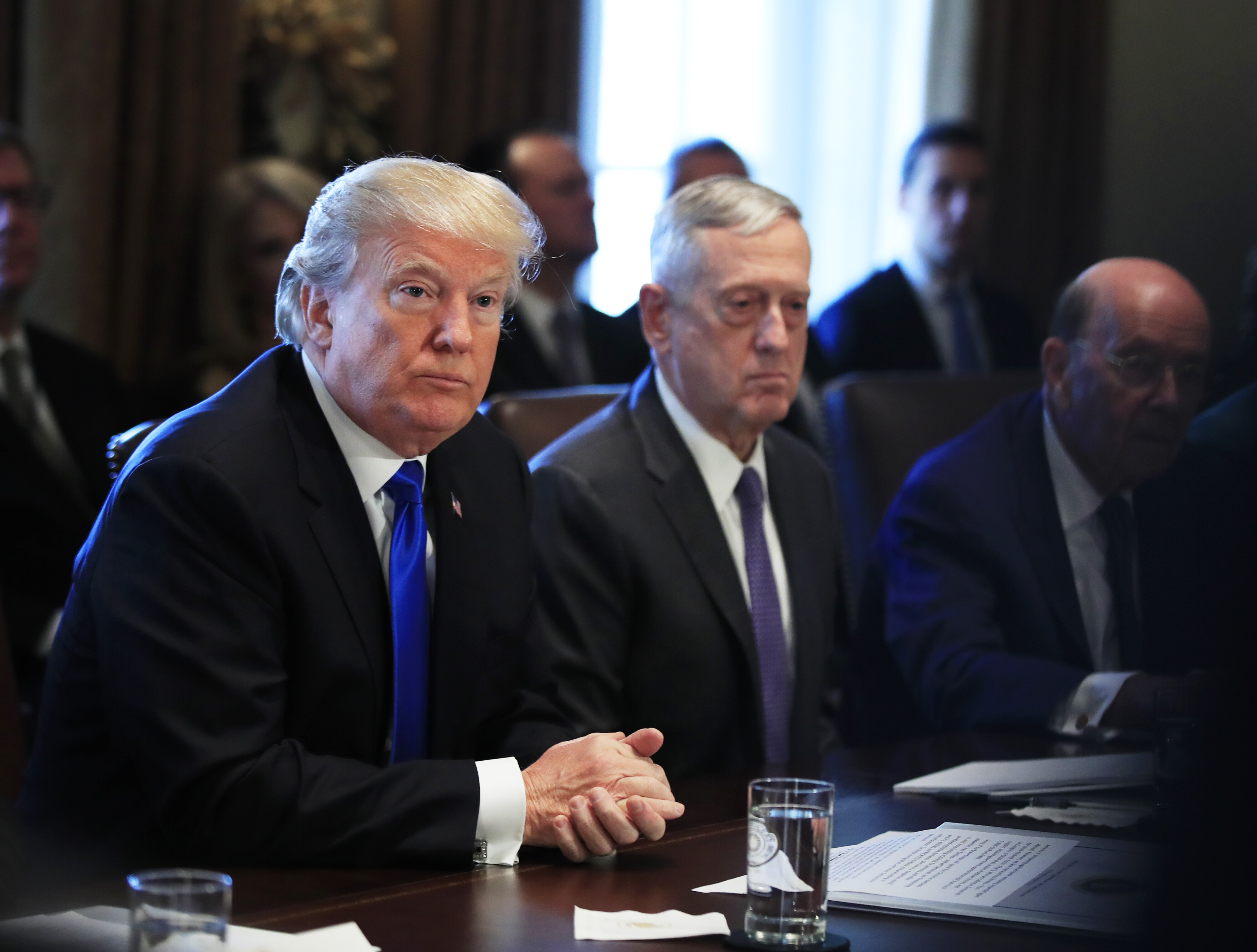Image result for photos of trump mattis