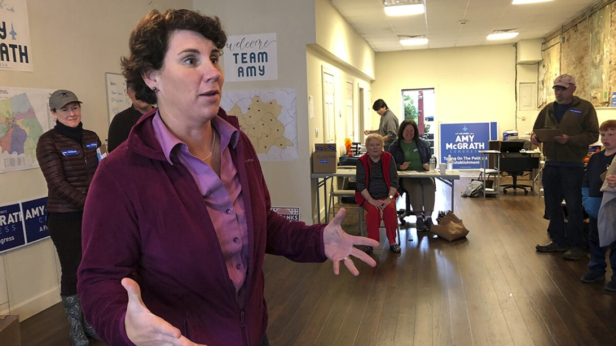 Kentucky Democrat says a primary 'might be helpful' after disastrous Amy McGrath campaign rollout