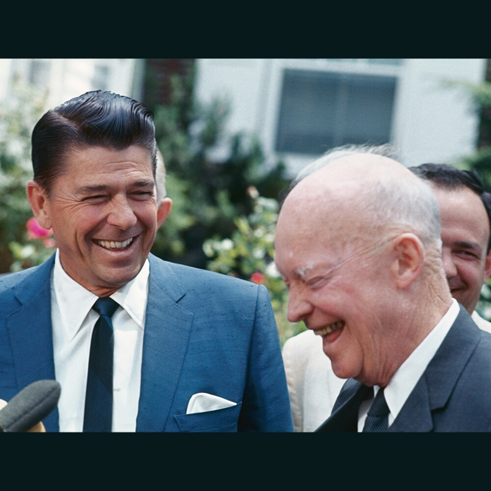 unearthing the eisenhower-reagan connection