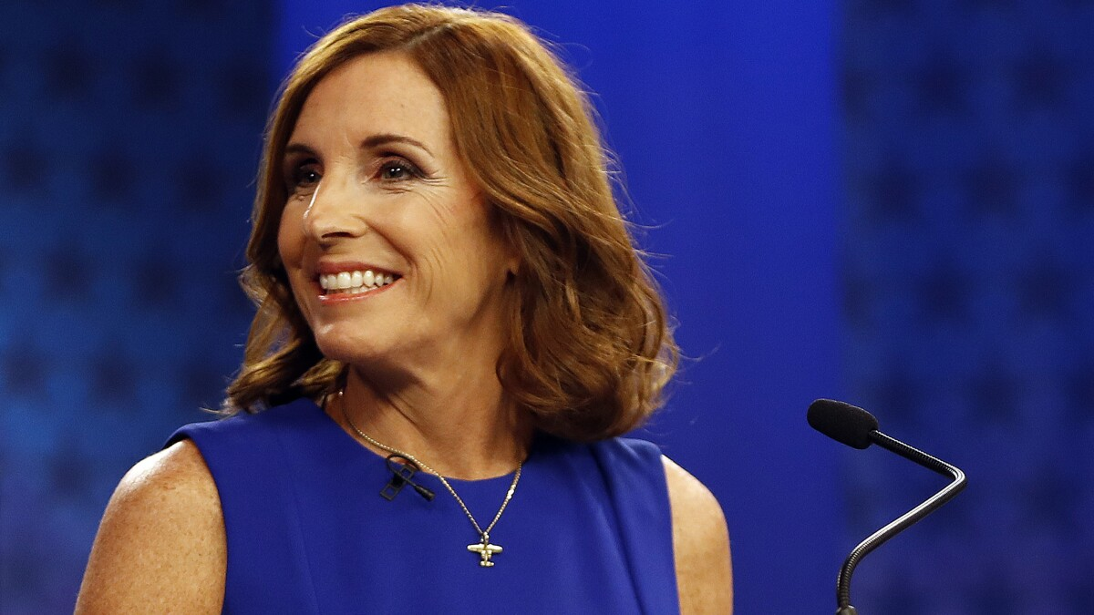 McSally allies plead for air cover as Democratic groups pummel the Arizona senator