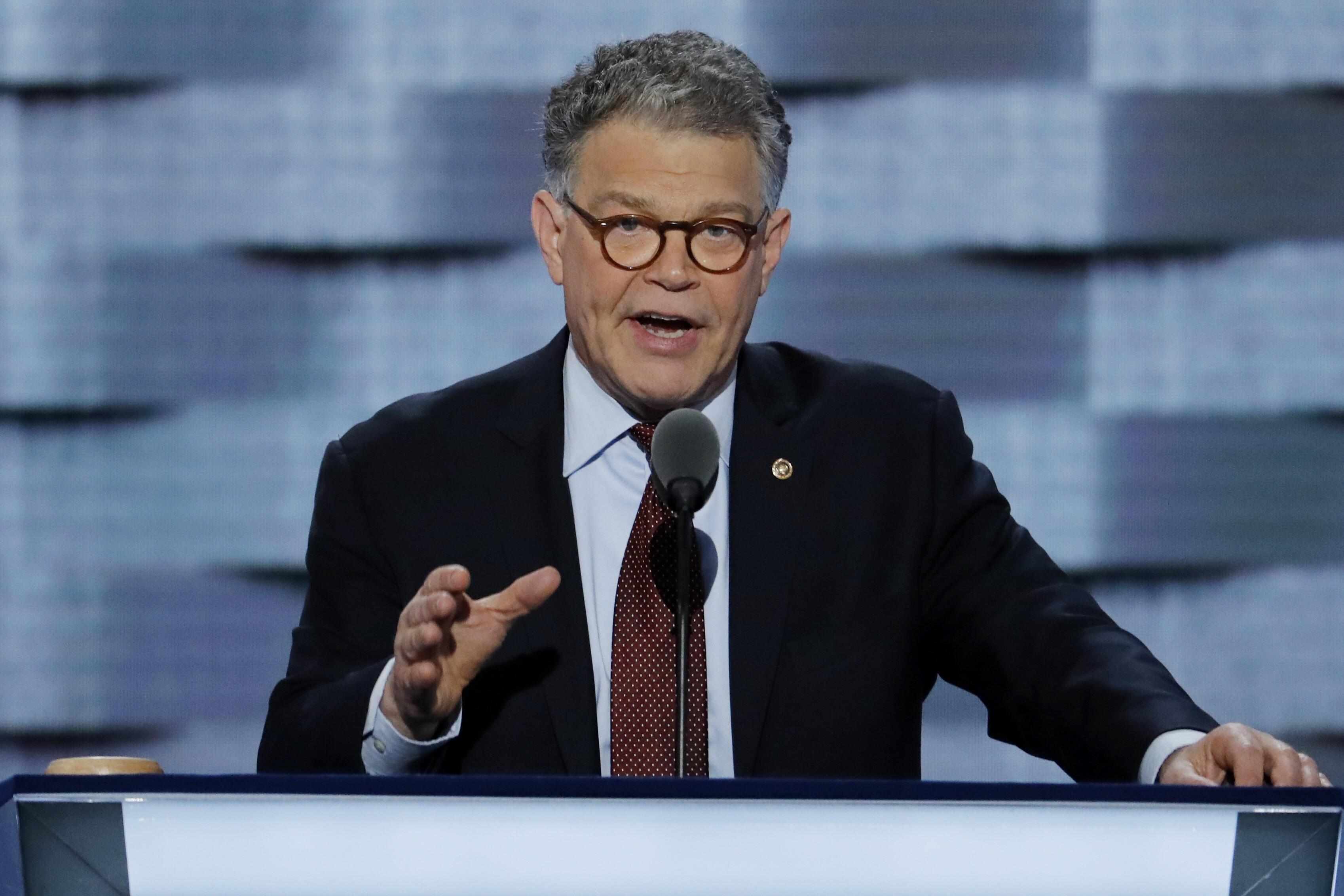 Democratic Senators Call For >> Democratic Senators Call For Ethics Probe Of Al Franken Not Resignation