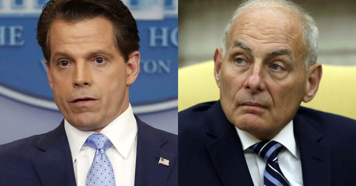 Anthony Scaramucci asks John Kelly if Trump is a 'stable genius'