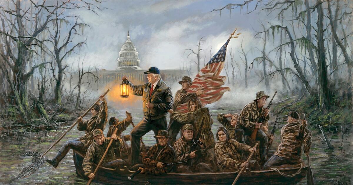 George Washington Christmas Meme.Angry Kitsch