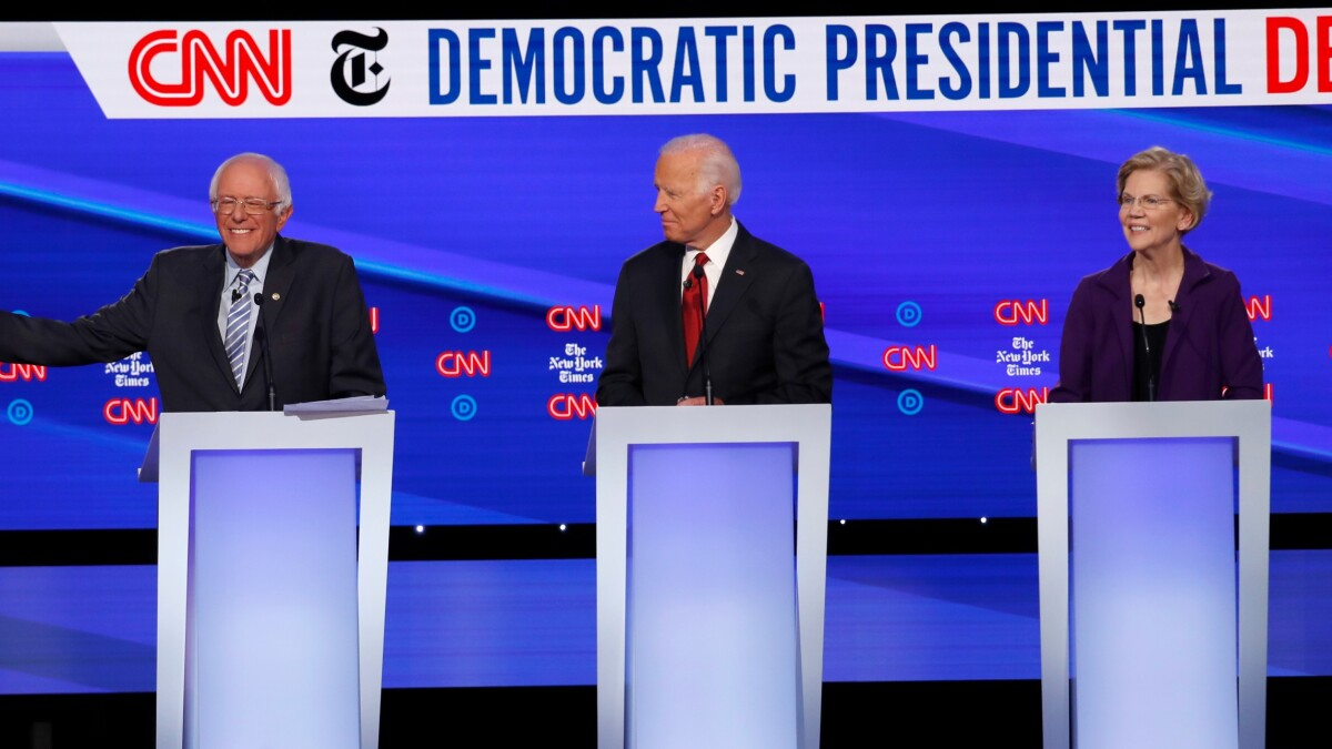 Westerville debate leaves the Democratic race wider open