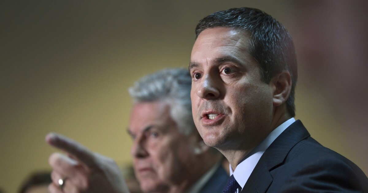 Devin Nunes says 'pay close attention': Top Obama DOJ official Bruce Ohr will become 'more and more important'