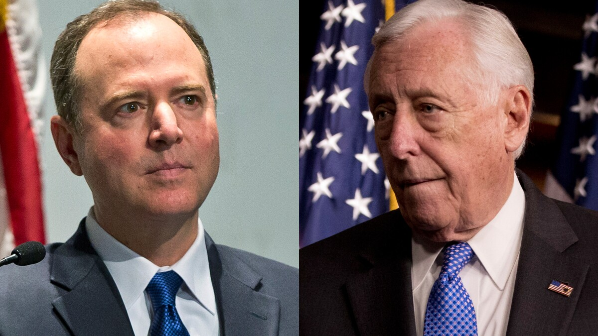Schiff and Hoyer book pricey taxpayer-funded military jet to Europe for speeches