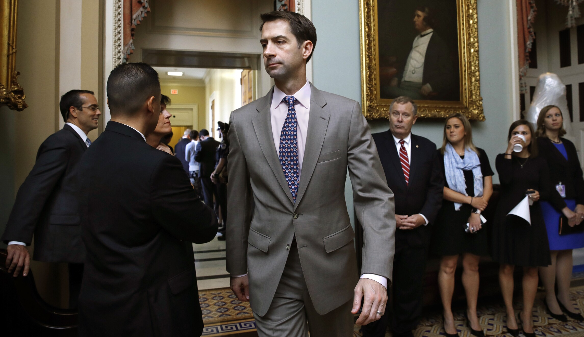 Sen. Tom Cotton explains the 'two negative side effects' of ...