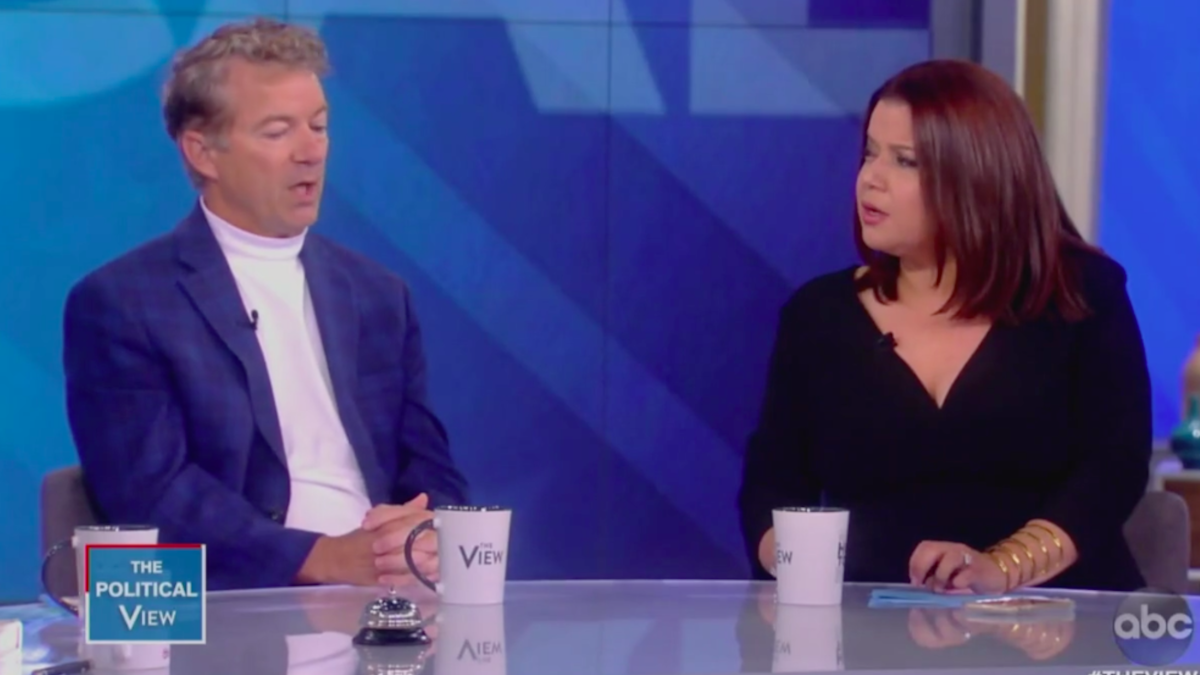 'Those women go on and on yelling and screaming': Rand Paul trashes <i>The View </i>after appearance