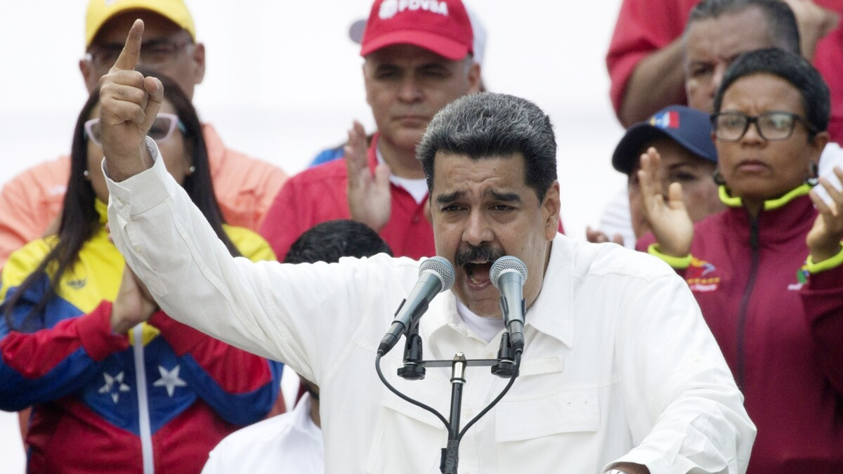 State Department: Europeans 'making a real mistake' by delaying Maduro sanctions