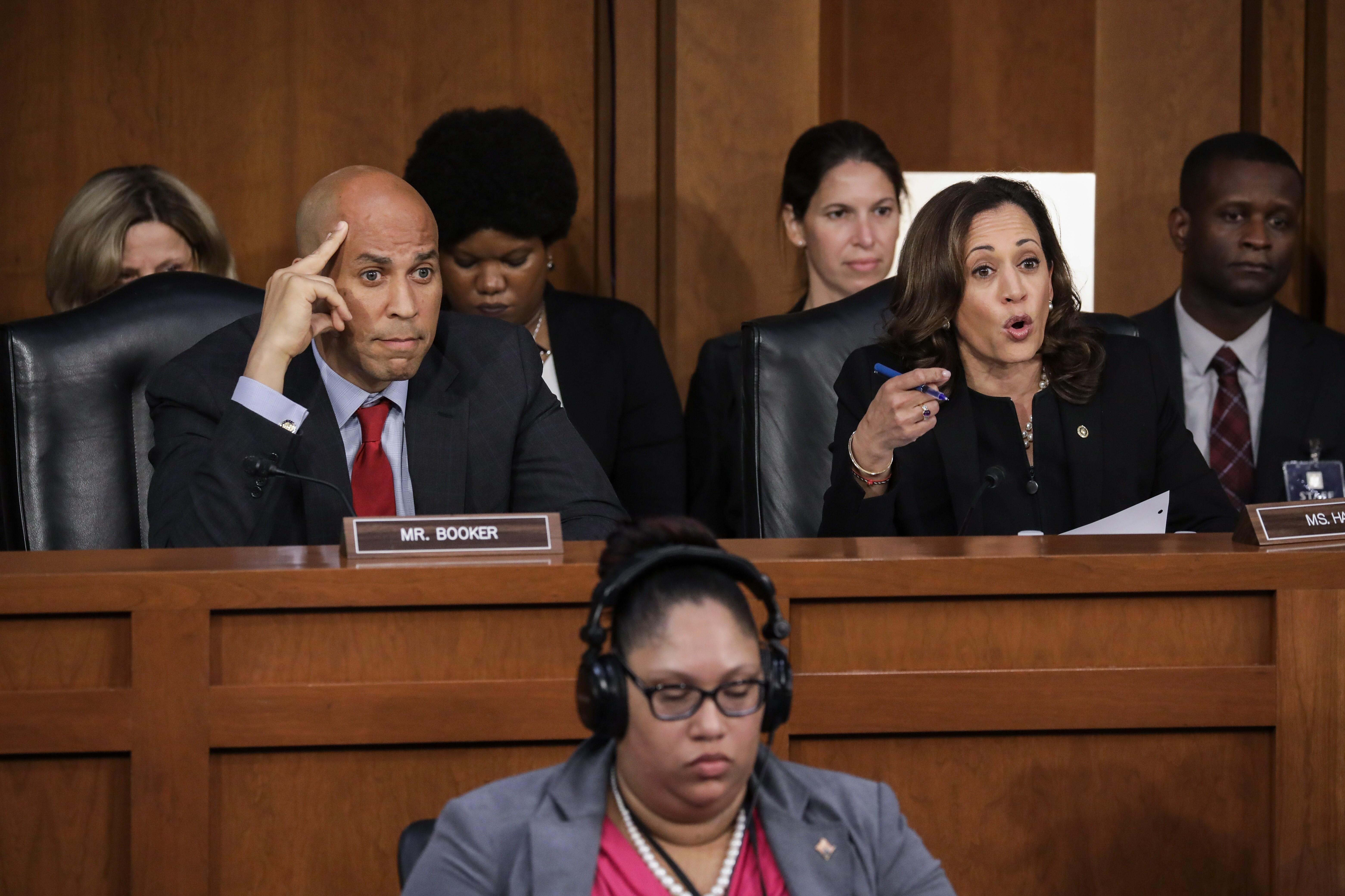 democrats behaving badly