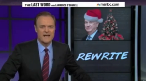 video msnbc liberals declare war on the war on christmas - The War On Christmas
