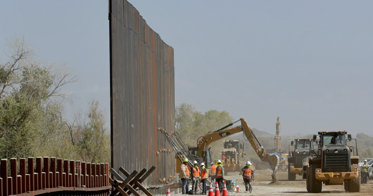 One last push for Trump's border wall funding could complicate government spending deal