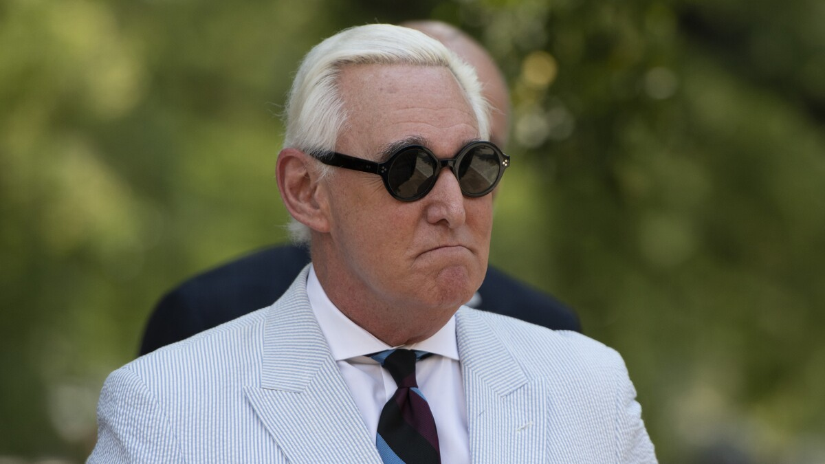 Roger Stone banned from using all forms of social media