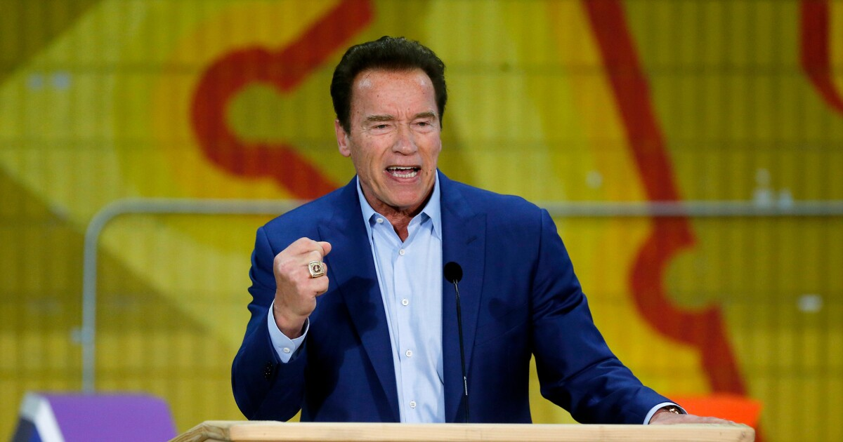 Trump critic Schwarzenegger thanks administration for efforts to combat California homelessness
