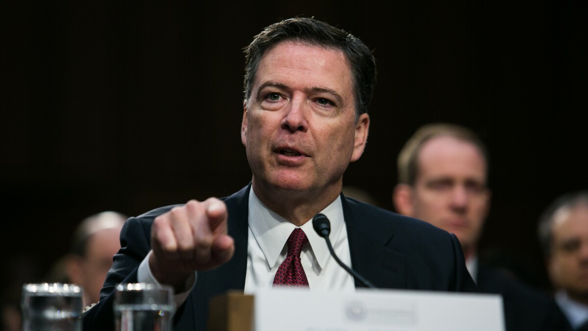 Comey won't take a job so he's free to jab at Trump during 2020 election