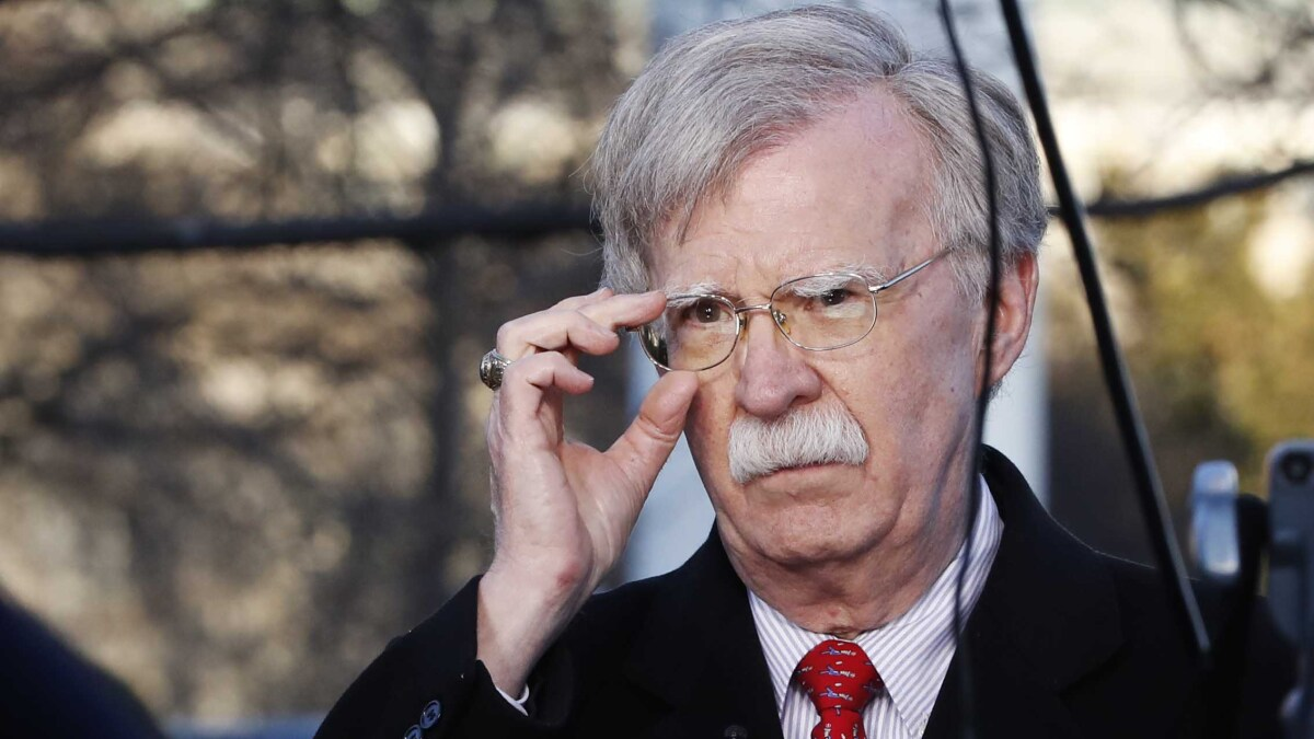 White House says no one outside National Security Council saw Bolton book amid complaints GOP 'blindsided'