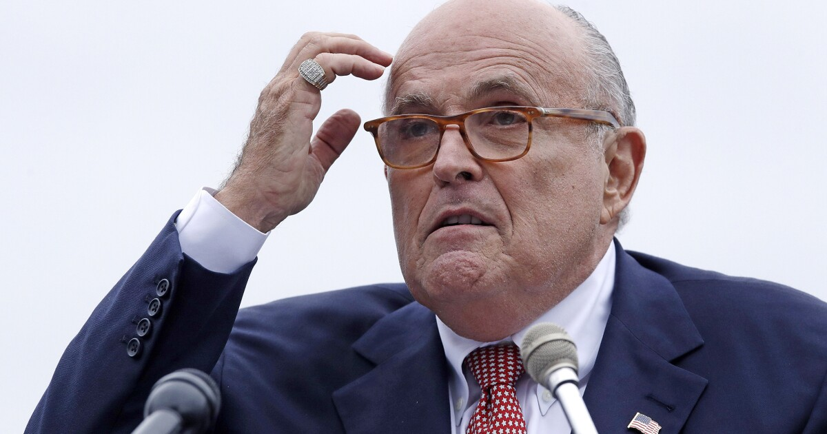 Rudy Giuliani pins TV absence on Mueller