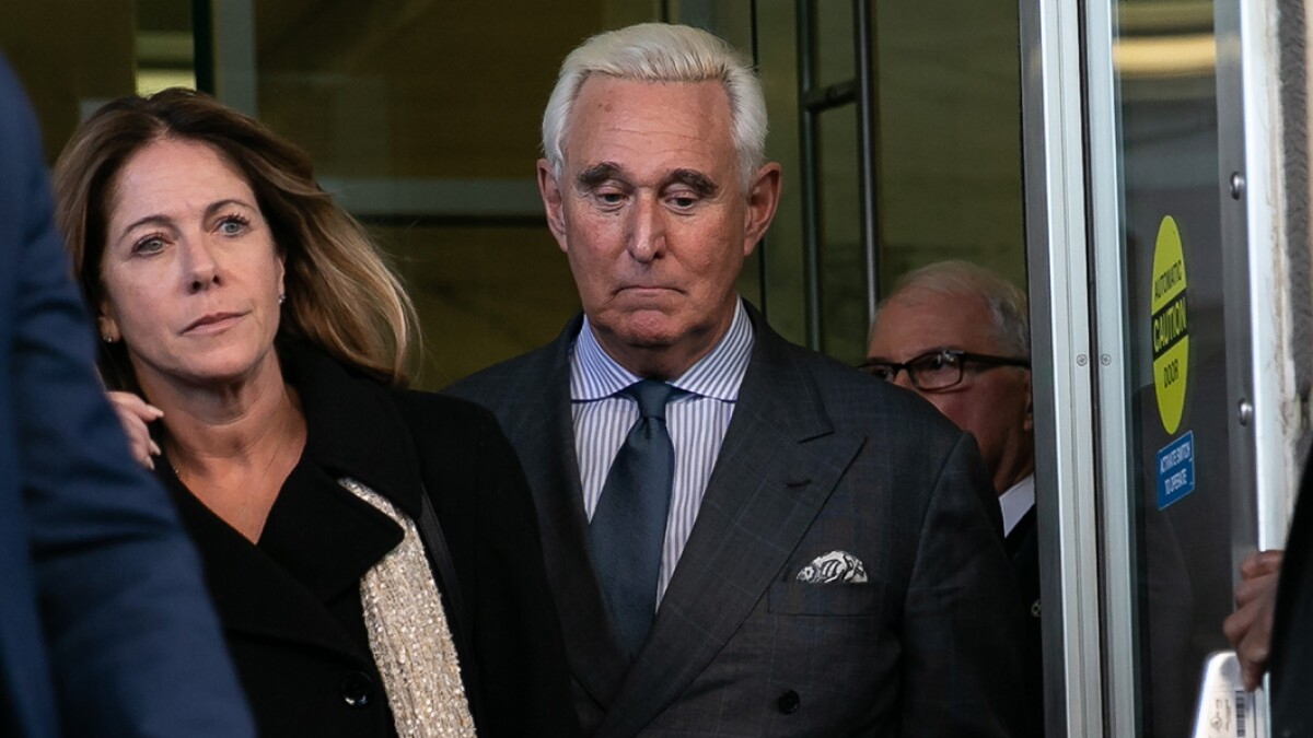 Roger Stone's daughter asks Trump to 'save' her family