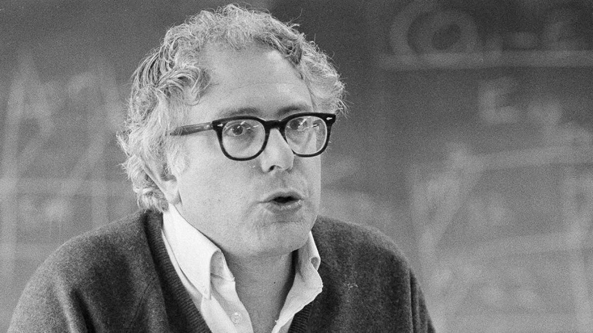 Bernie Sanders in 1972: 'I don't mind people calling me a communist'