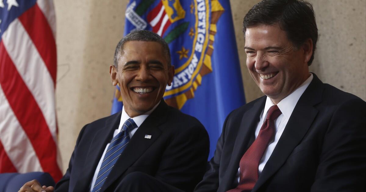 James Comey: I miss Obama