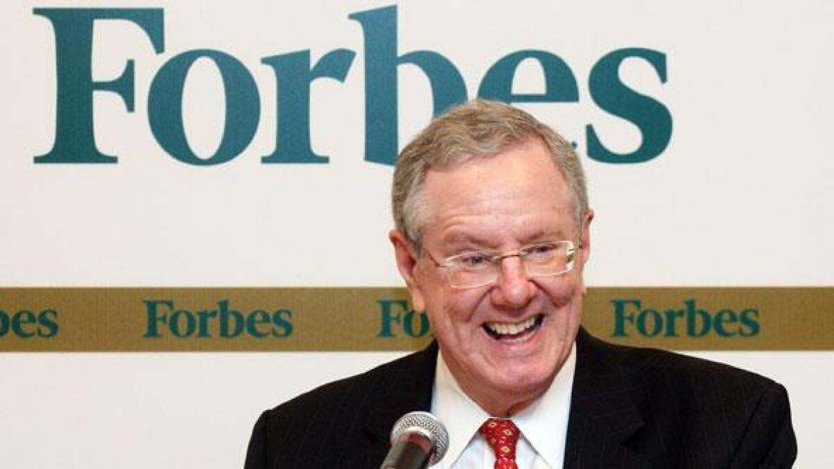 <i>Forbes</i> accused of gender bias for list of top US innovators