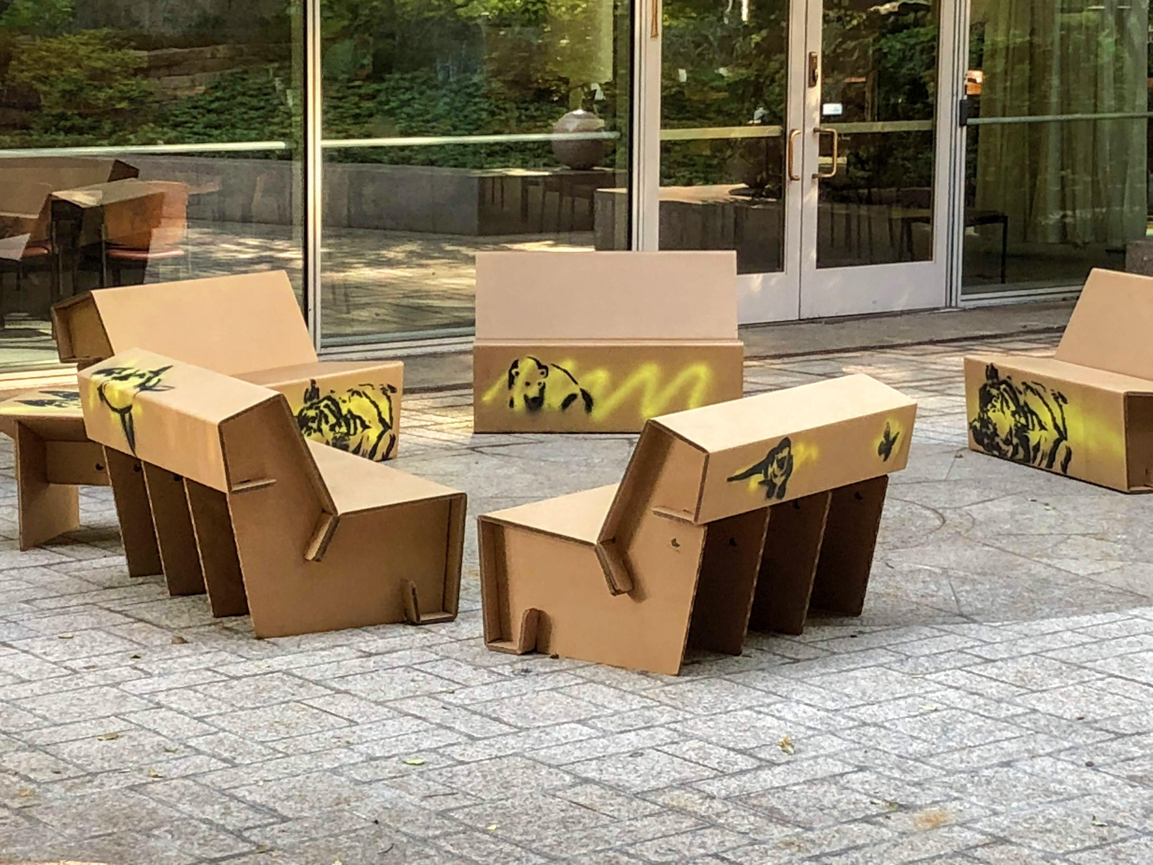 Natgeo Unveils Latest Eco Trend Cardboard Furniture