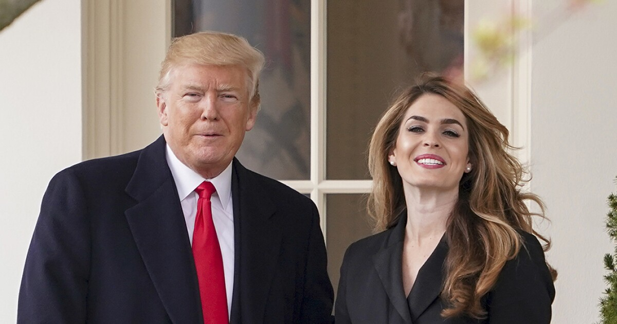 Longtime Trump aide Hope Hicks to cooperate with Democrats over Trump allegations