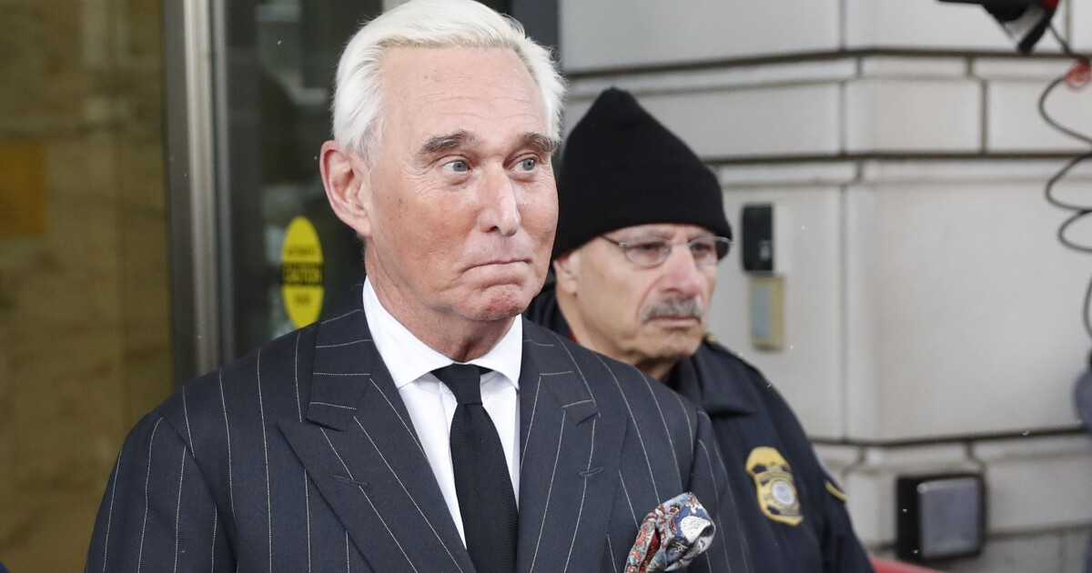 Trump says he 'didn't speak to' Justice Department about lighter Roger Stone sentence 1