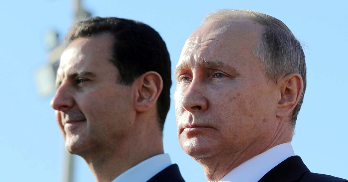 Time to pressure Assad and Putin in Syria