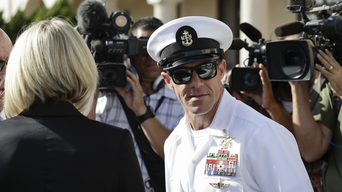 Eddie Gallagher's former lawyer files claim for up to $1M, raising questions about a nonprofit group that funded the Navy SEAL's defense